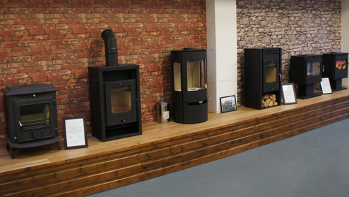 Multi Fuel Burner Showroom